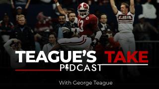 Teague's Take Podcast logo