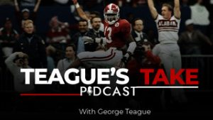 Teague's Take Podcast logo